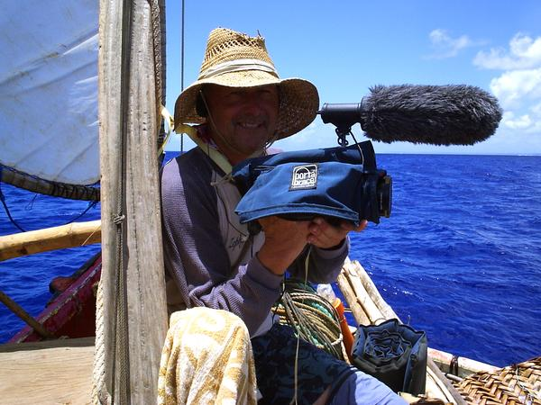 Eric Metzgar on Simion Hokulea